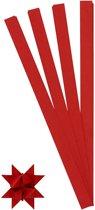 Vlechtstroken, b: 15 mm, d: 6,5 cm, rood, 100stroken