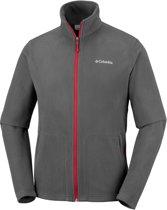 Columbia Fast Trek Light Full Zip Fleece - Heren - Fleecevest - Grijs/rood