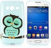 Sleeping Owl Silicone hoesje Samsung Galaxy Ace 4 G313