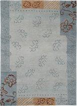 Vloerkleed Fleur Aqua 170x240