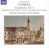 Vanhal: Symphonies, Vol.3