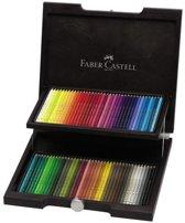 Kleurpotlood Faber-Castell Polychromos houten koffer 72 stuks