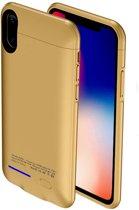 BestCases.nl Goud smart batterij hoesje Apple iPhone X