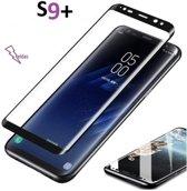 Samsung S9 plus Glazen screenprotector Samsung Galaxy 3D Screen beschermende Glas explosieveilige gehard glas Cover Film Zwart