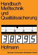 Handbuch Me technik Und Qualit tssicherung