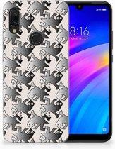 Xiaomi Redmi 7 Uniek TPU Hoesje Salamander Grey