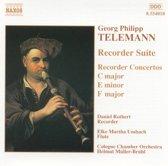 Telemann: Recorder Suite & Concertos / Rothert, Umbach, M¿ller-Br¿hl et al