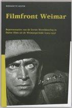 Publikaties van de Faculteit der Historische en Kunstwetenschappen XXVII - Filmfront Weimar
