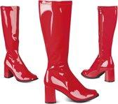 Laarzen Retro - rood - maat 40