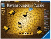 Ravensburger Krypt puzzel GOUD  631 stukjes
