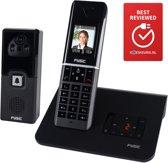 Fysic FX-6107 Deur intercom Camera met gratis DECT toestel | Zwart