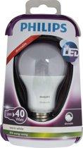 Philips LED lamp E27 dimbaar 6W (40W) warmwit 470lm mat