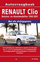 Vraagbaak Renault Clio deel Benzine- en dieselmodellen 1998-2001