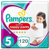 Pampers Premium Protection Pants Active fit Maat 5 Luierbroekjes 120 stuks