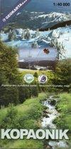 wandelkaart Nationaal Park Kopaonik, Servie