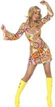 Hippie jurkje voor dames 36-38 (S)