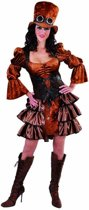 Steampunk Kostuum | Steampunk Stoomkracht Fantasie | Vrouw | Small | Carnaval kostuum | Verkleedkleding