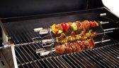 BBQ Rotisserie Kebab spiezen set (universele set geschikt voor de meeste rotisseries / BBQ spitten)