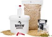 Brew Monkey Bierbrouwpakket - Basis Weizen bier - Zelf bier brouwen - Bier brouwen startpakket