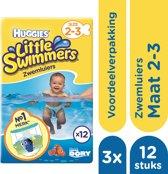 Huggies Little Swimmers Zwemluiers mt 2-3 - 3x 12 stuks