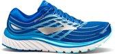 Brooks Glycerin 15 Hardloopschoenen Dames Sportschoenen - Maat 37.5 - Vrouwen - blauw/wit