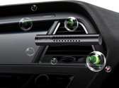 ProCar - Auto luchtverfrisser - 5 verschillende geuren - Navulling - Zwart - Autoverwarming| Zorgt voor een frisse geur in iedere auto | Auto verfrisser - Trendy design - Ventilatierooster monteerbaar - Hervulbaar - Auto Luchtje - Geurverfrisser