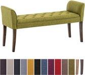Clp Cleopatra - Chaise longue - Stof - groen antiek donker