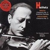 Heifetz - Bruch, Vieuxtemps: Violin Concertos etc