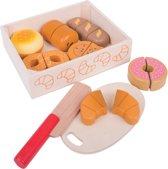 Bigjigs - Houten Kistje met Snijbrood