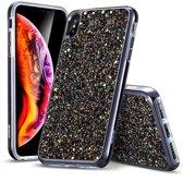 ESR Apple iPhone XS / X Case Luxury Glitter Zwart