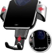 Universele telefoonhouder voor in de auto | In ventilatierooster | Stevig met grip | Universeel | Zwart