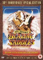 DVD cover van Blazing Saddles (Import)