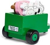 Tractor Ted Replica Houten Trailer