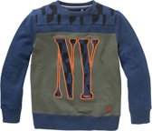 Twinlife Sweater  Blauw - 140