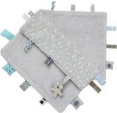 Knuffeldoekje Sweet Dreaming (25 x 25cm) Lovely Grey