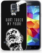 Samsung Galaxy S5 Uniek TPU Hoesje Zombie