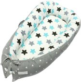 Little World Babynest Sleepy Grey-Blue