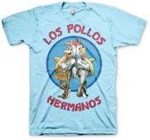 T-shirt Breaking Bad Los Pollos blauw M