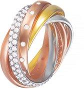 Esprit ESRG02838D  - Ring - zilver-rosé-goud