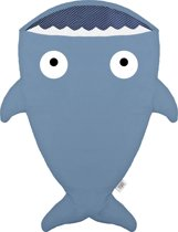 Baby Bites haai slaapzak Kids - Donker blauw