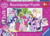 Ravensburger My little pony 2 puzzels van 24 stukjes