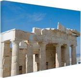 FotoCadeau.nl - Akropolis Athene Canvas 30x20 cm - Foto print op Canvas schilderij (Wanddecoratie)