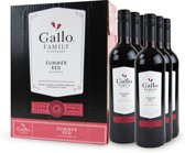 Gallo Family Vineyards Summer Red - 6x 75cl (Doos)