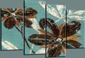 Art4-all - Canvas Schilderij Bloemen - 130x80cm