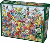Cobble Hill puzzle 1000 pieces - Butterfly Garden