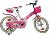 Dino 156nsk Hello Kitty - Kinderfiets - Meisjes - Roze - 16 Inch