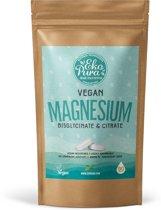 Magnesium Bisglycinaat & Citraat Vegan - 350mg Elementair Magnesium -  90 Tabletten