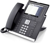 Unify OpenScape IP 55G IP telefoon Zwart Handset met snoer 8 regels