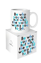 Quotable Mug Be Who You Are