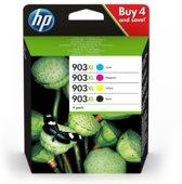 HP 903XL Original Zwart, Cyaan, Magenta, Geel Multipack 4 stuk(s)